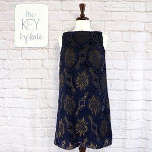 NWT Loft Sleeveless Print Dress